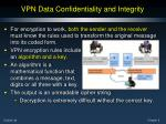 vpn data confidentiality and integrity1