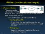 vpn data confidentiality and integrity11