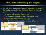 vpn data confidentiality and integrity5