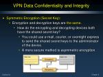 vpn data confidentiality and integrity6