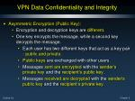 vpn data confidentiality and integrity7