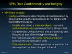 vpn data confidentiality and integrity9
