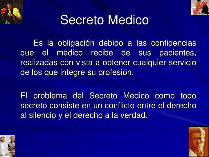 Secreto Medico