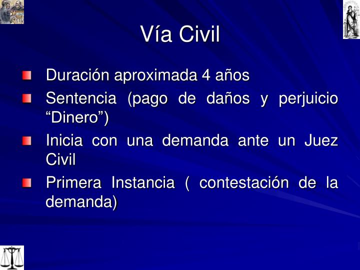 Vía Civil
