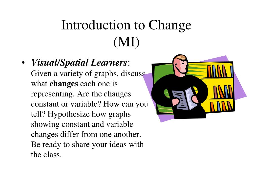 Introduction to Change