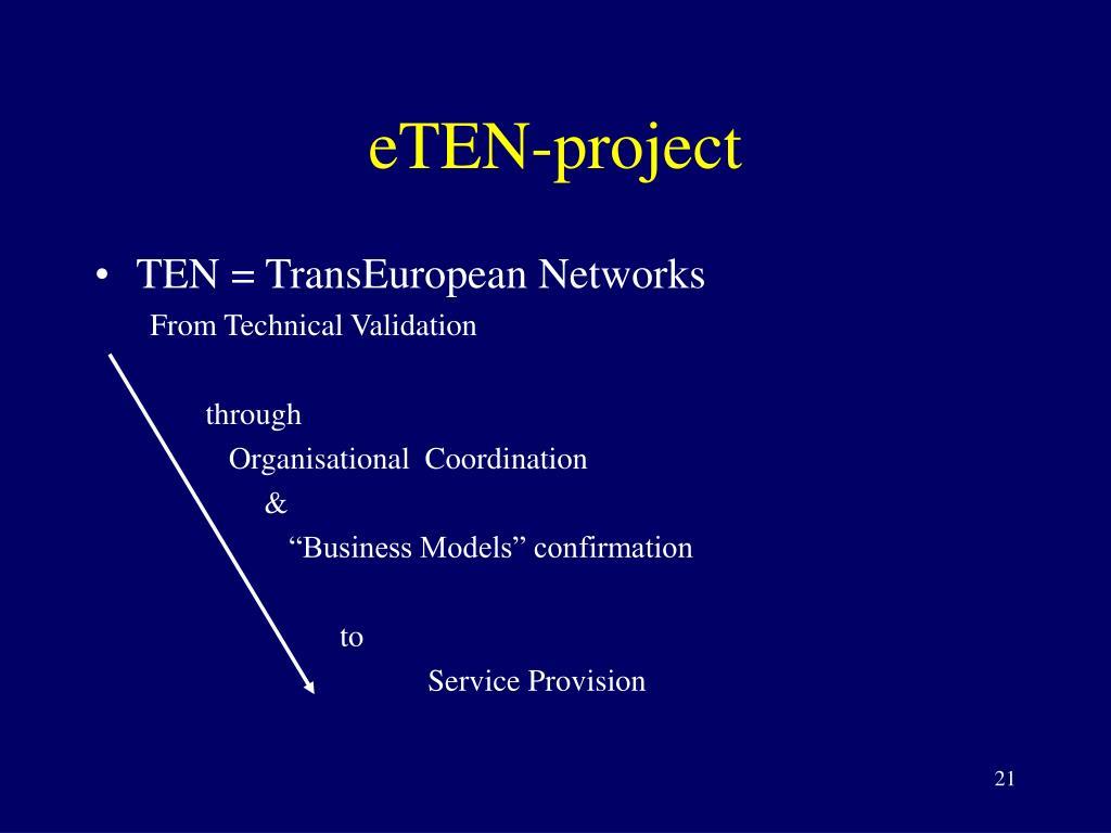 eTEN-project