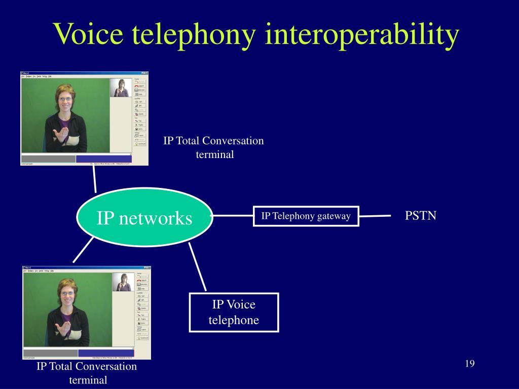 Voice telephony interoperability