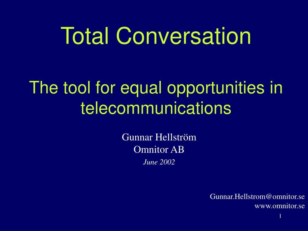 Total Conversation