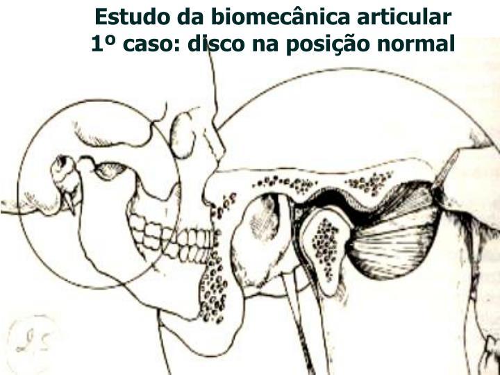 Estudo da biomecânica articular