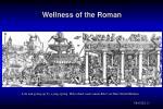 wellness of the roman