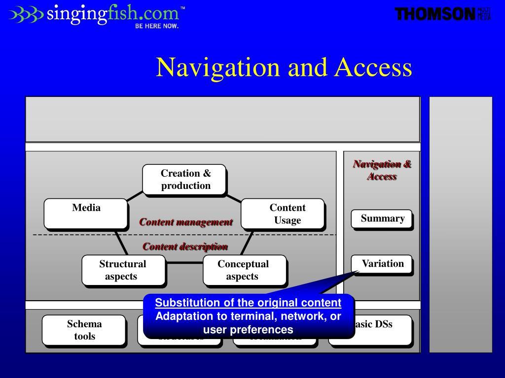 Navigation &