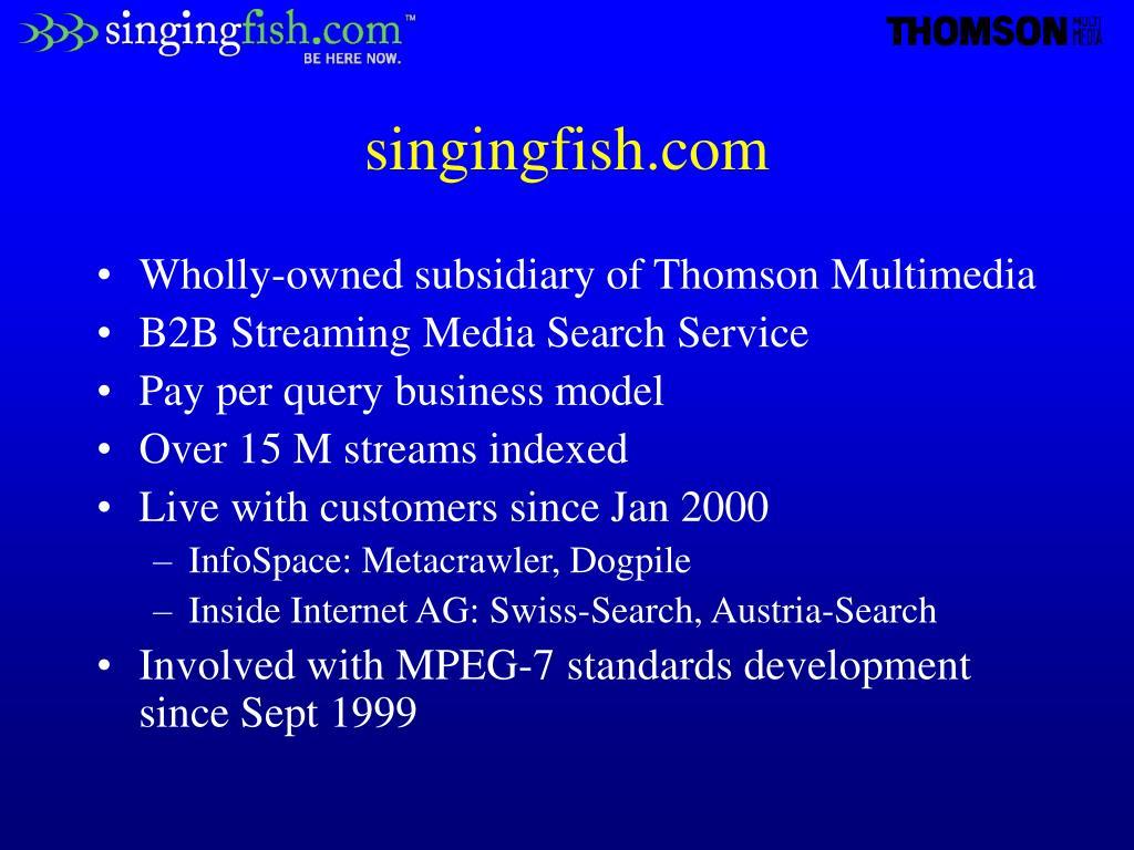 singingfish.com