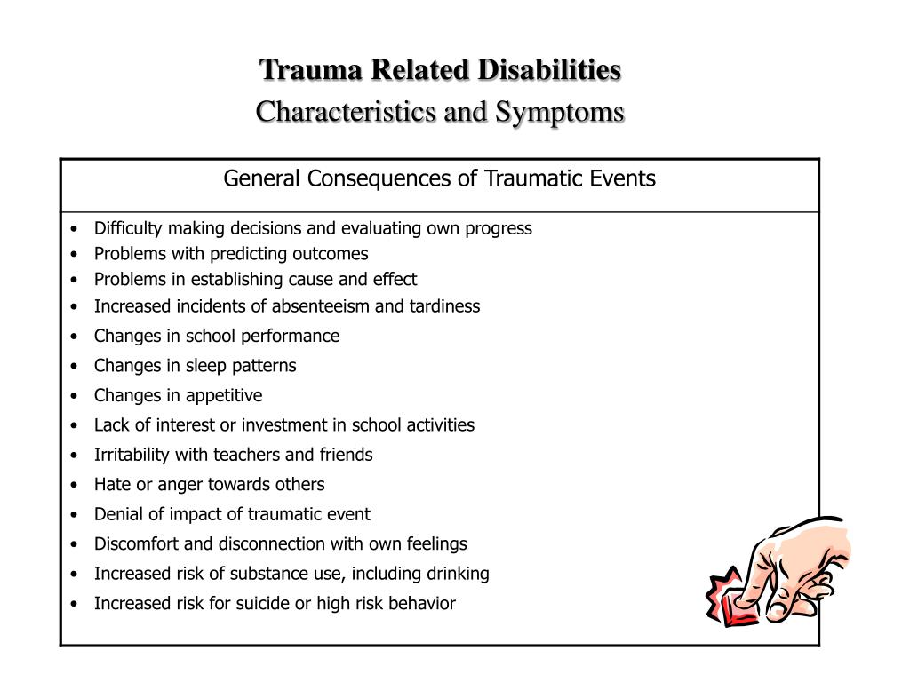 Trauma Related Disabilities