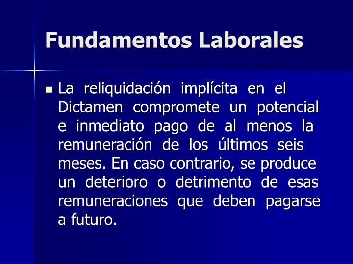 Fundamentos Laborales