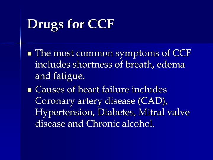 Drugs for ccf1