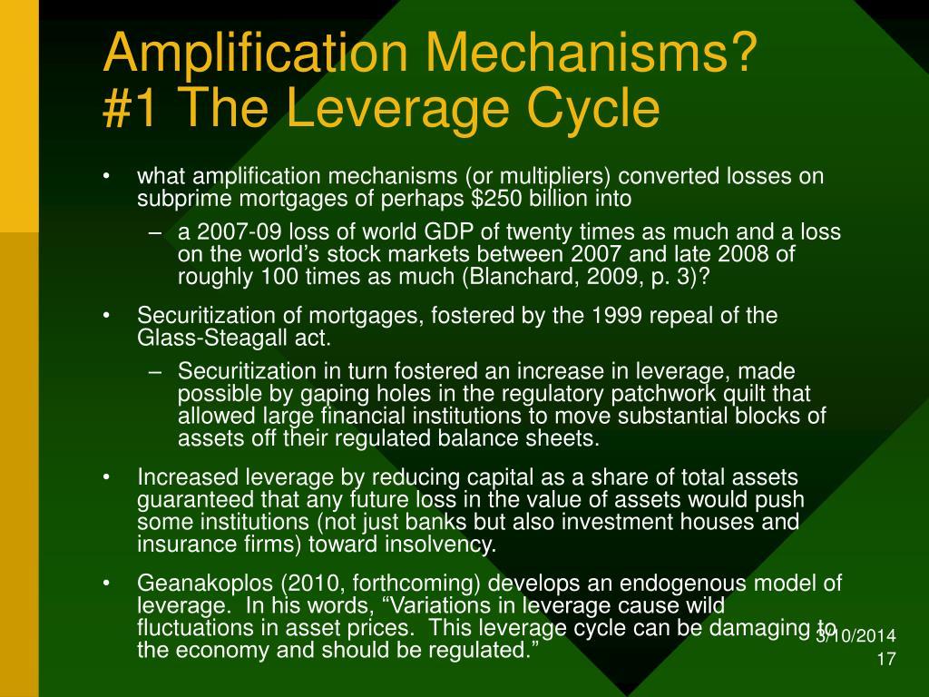 Amplification Mechanisms?
