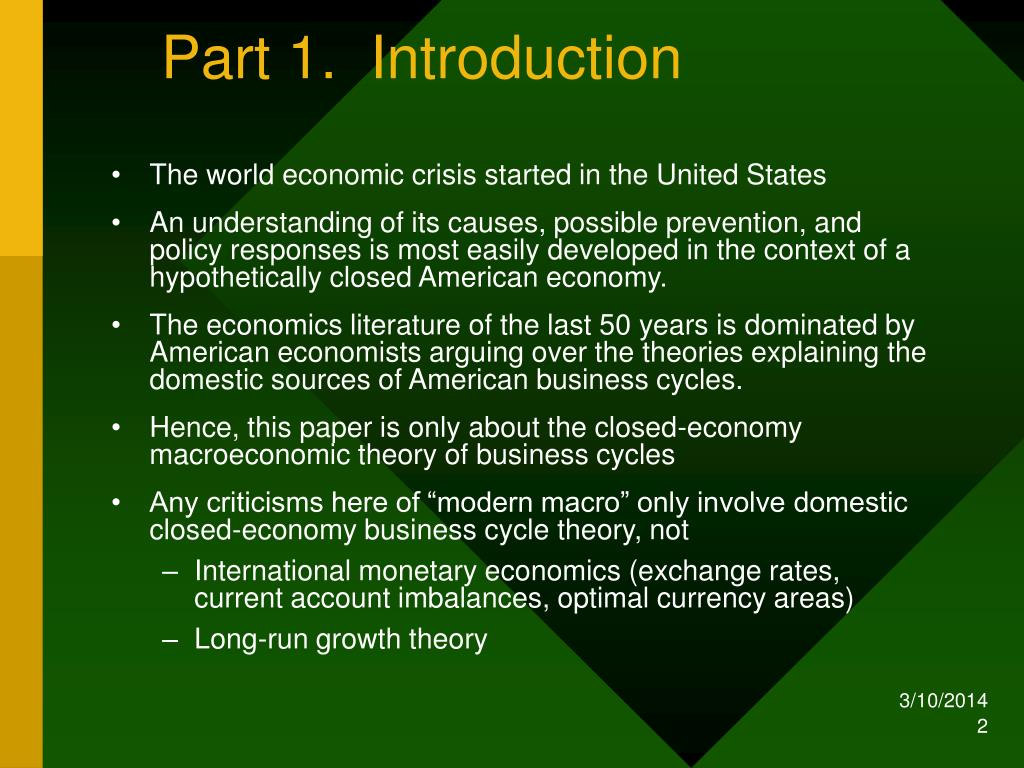 Part 1.  Introduction