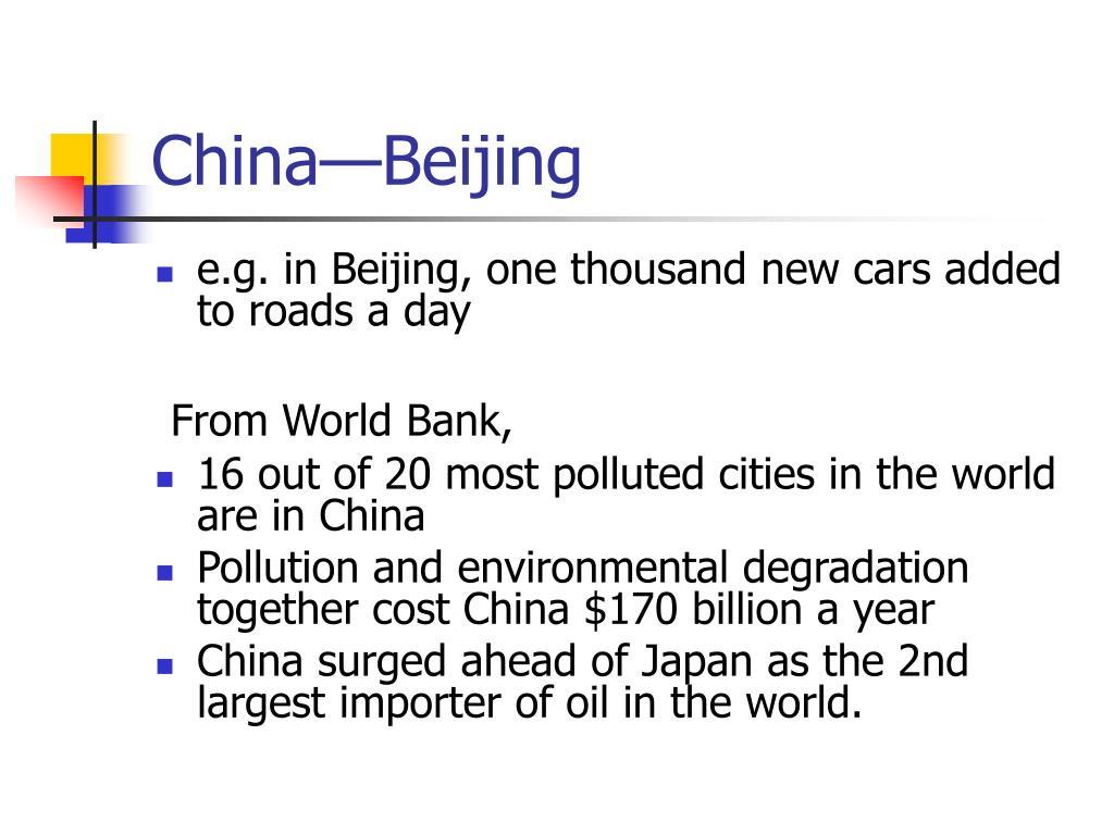 China—Beijing