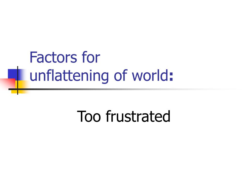 Factors for