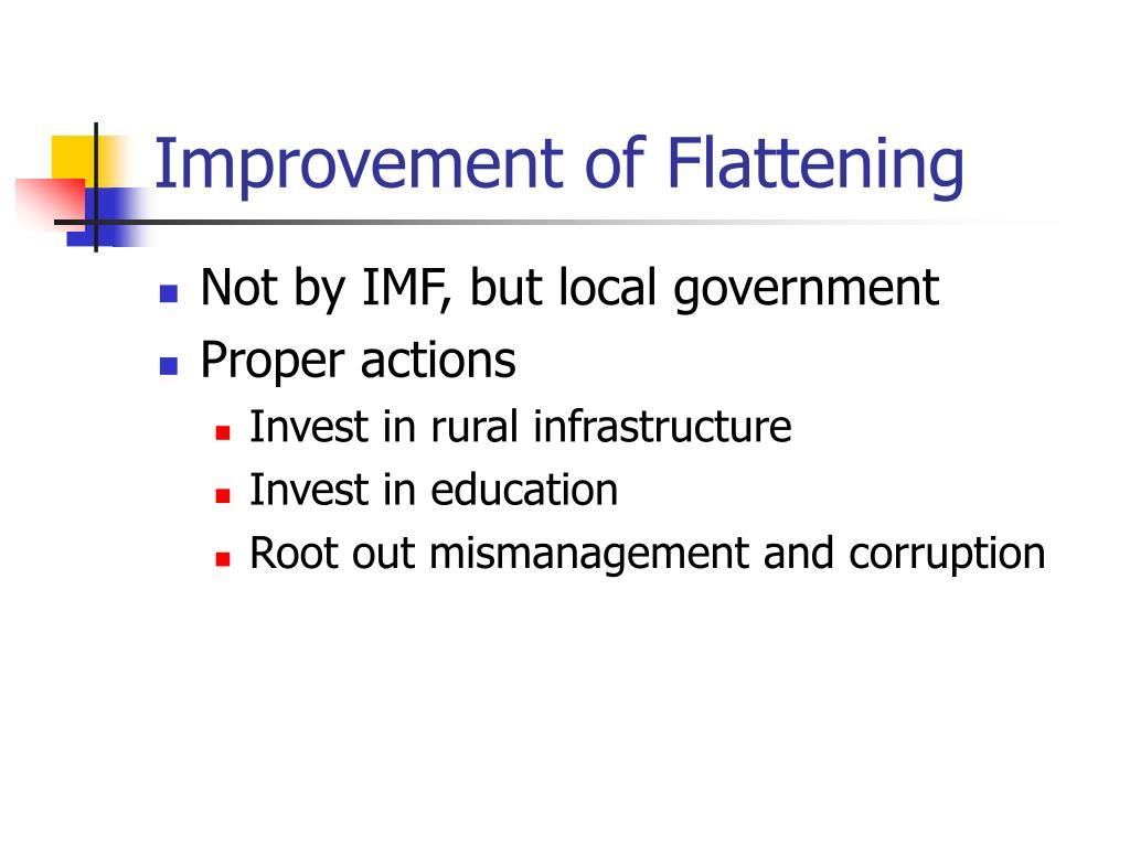 Improvement of Flattening