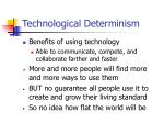 technological determinism3