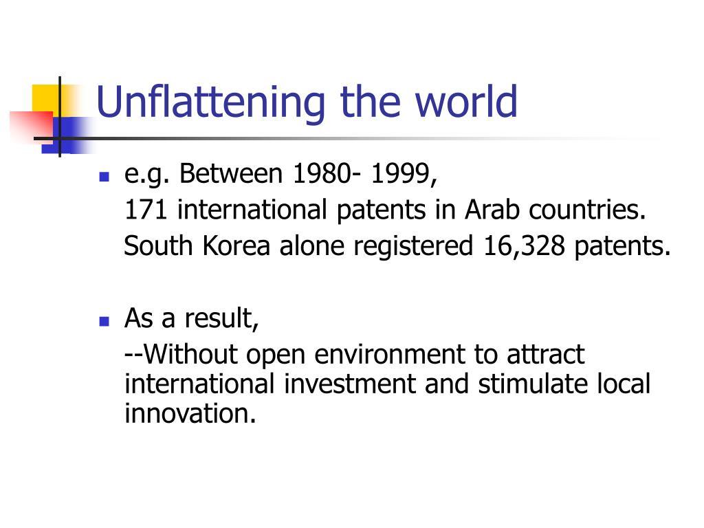 Unflattening the world
