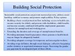 building social protection