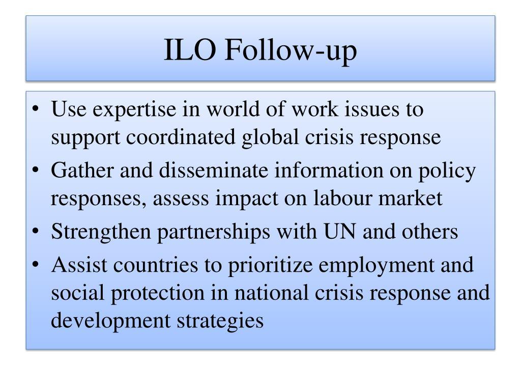 ILO Follow-up