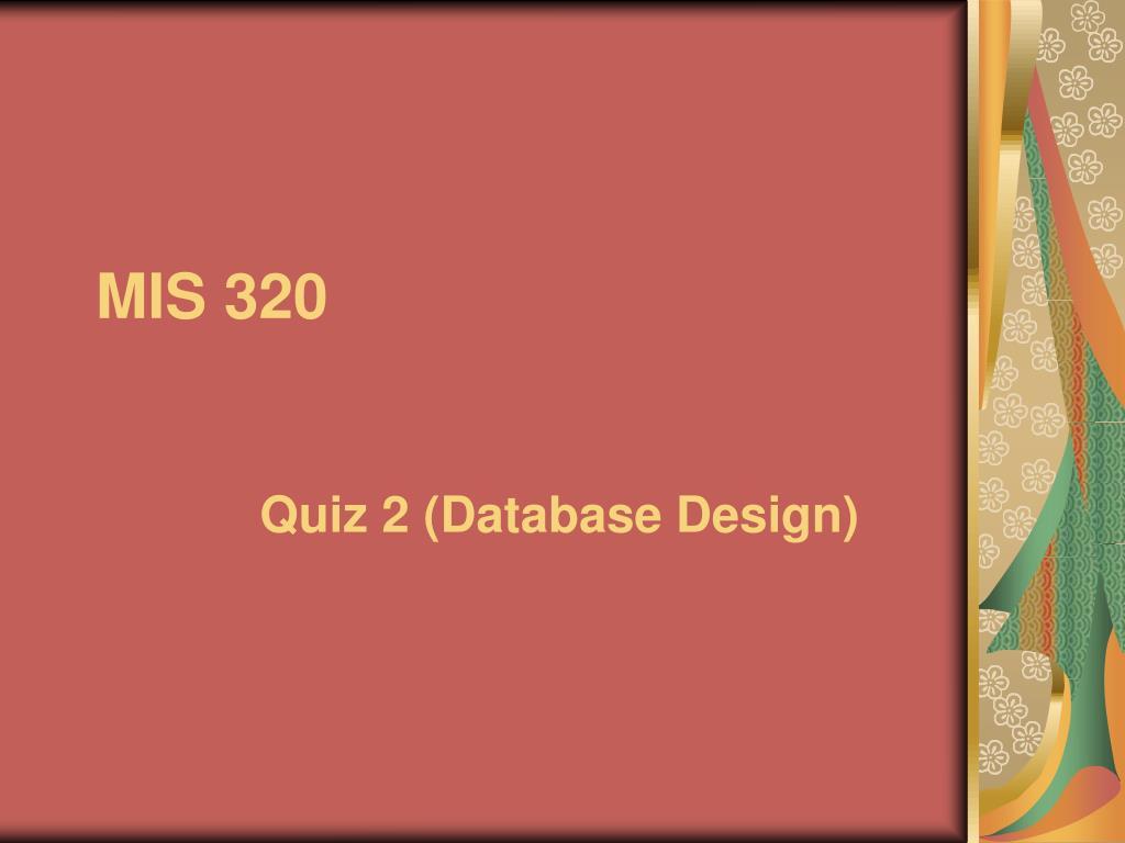mis 320