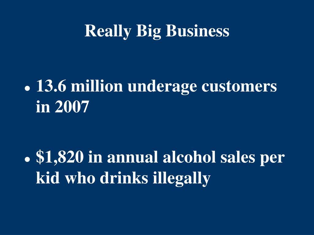 Really Big Business