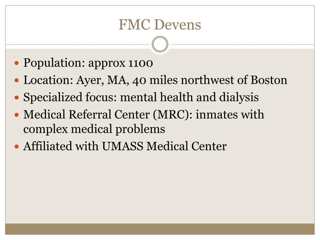 FMC Devens