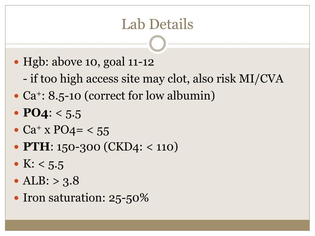 Lab Details