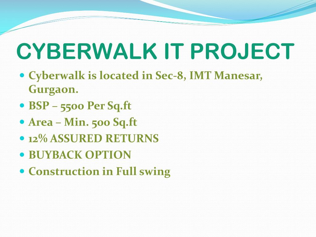 CYBERWALK IT PROJECT