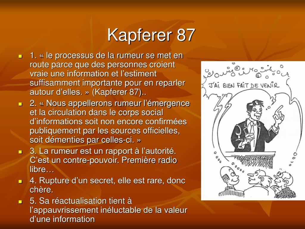 Kapferer 87