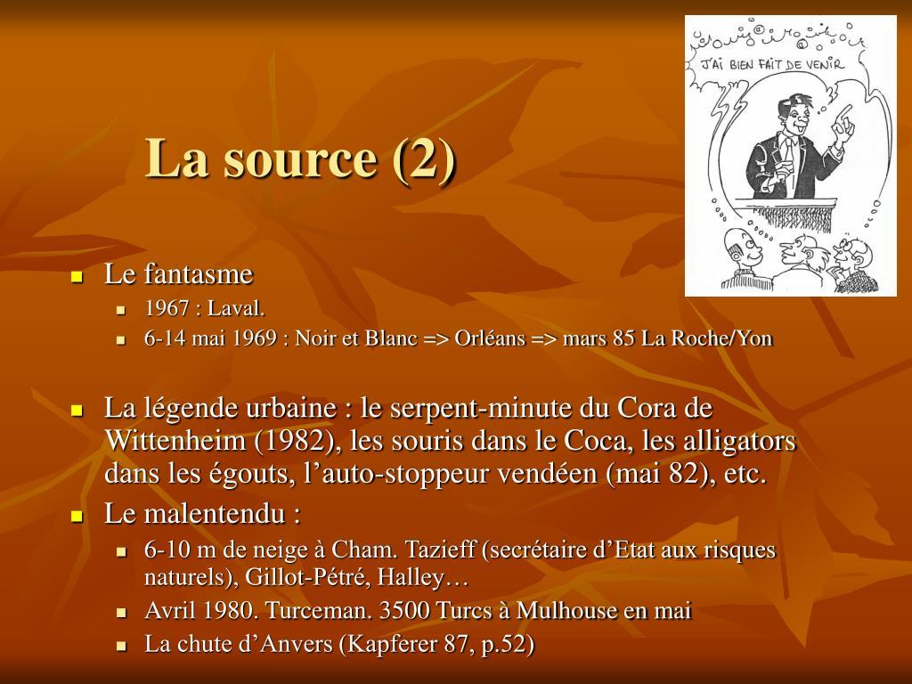 La source (2)