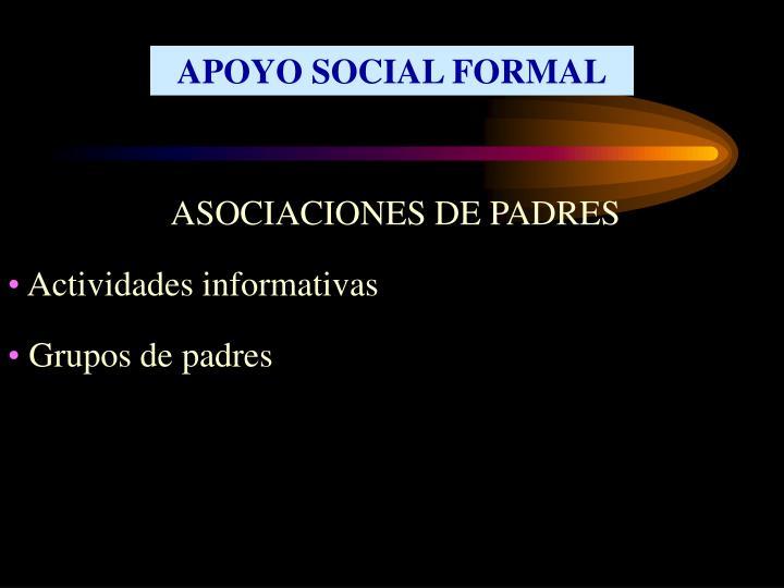 APOYO SOCIAL FORMAL