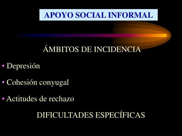 APOYO SOCIAL INFORMAL