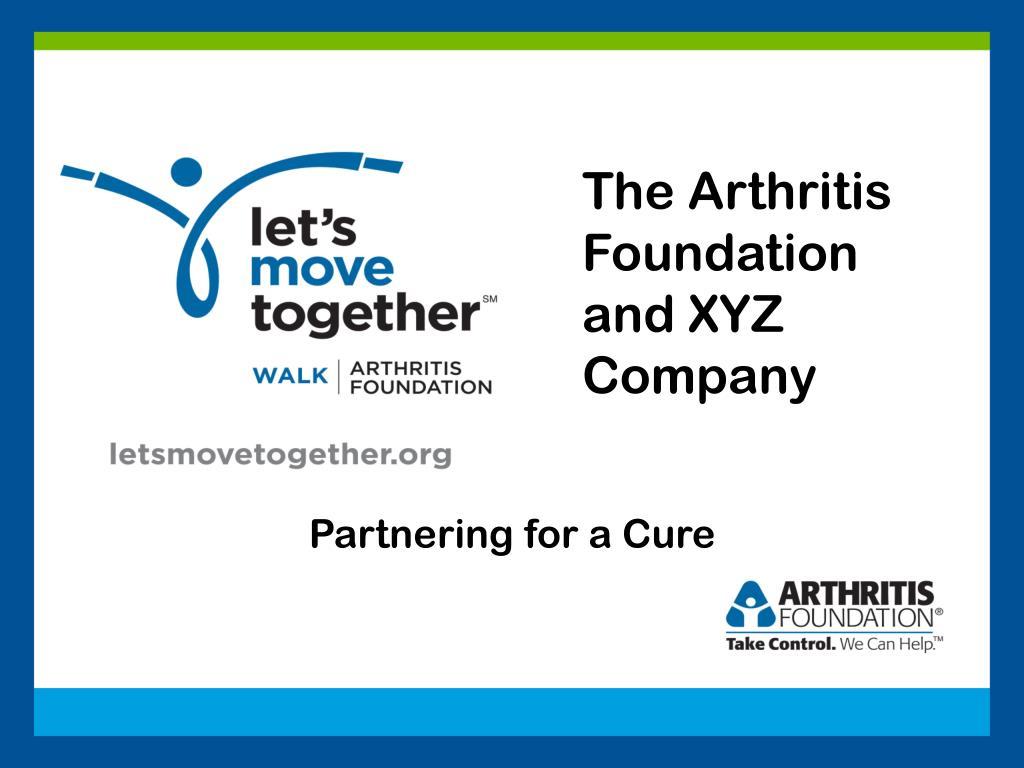 The Arthritis Foundation and XYZ Company