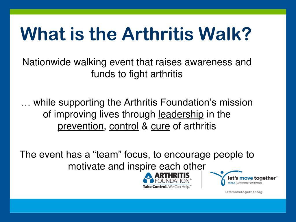 What is the Arthritis Walk?