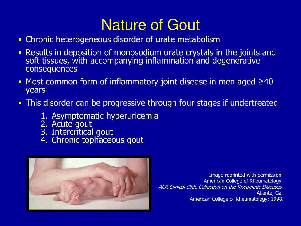 Nature of Gout