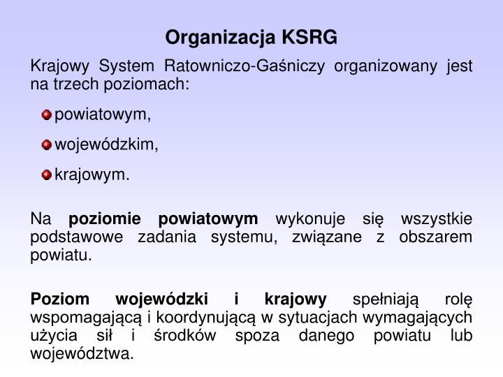 Organizacja KSRG