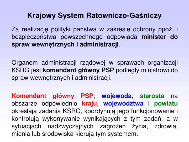 Krajowy System Ratowniczo-Ganiczy