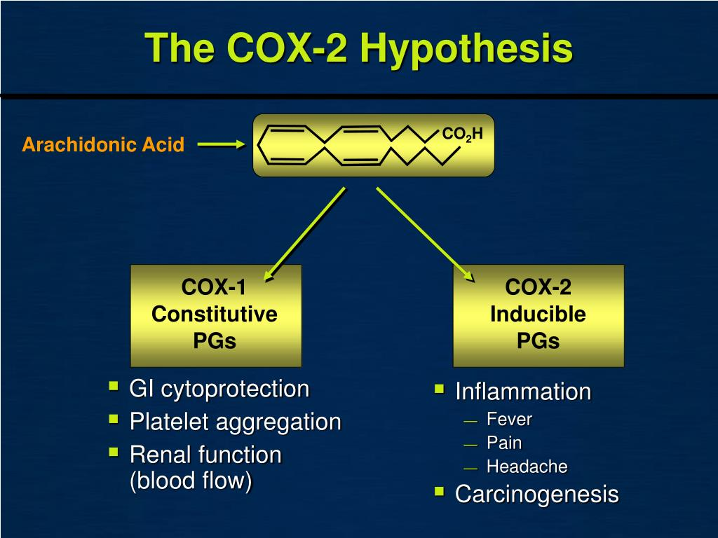 The COX-2 Hypothesis