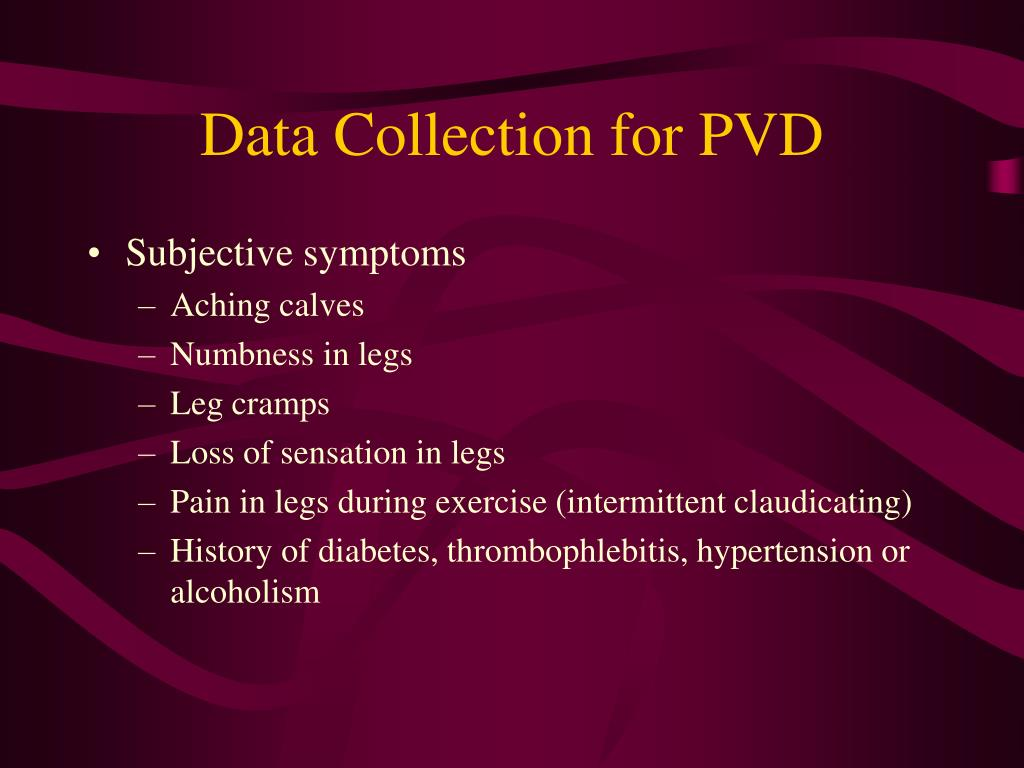 Data Collection for PVD