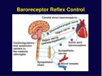 baroreceptor reflex control