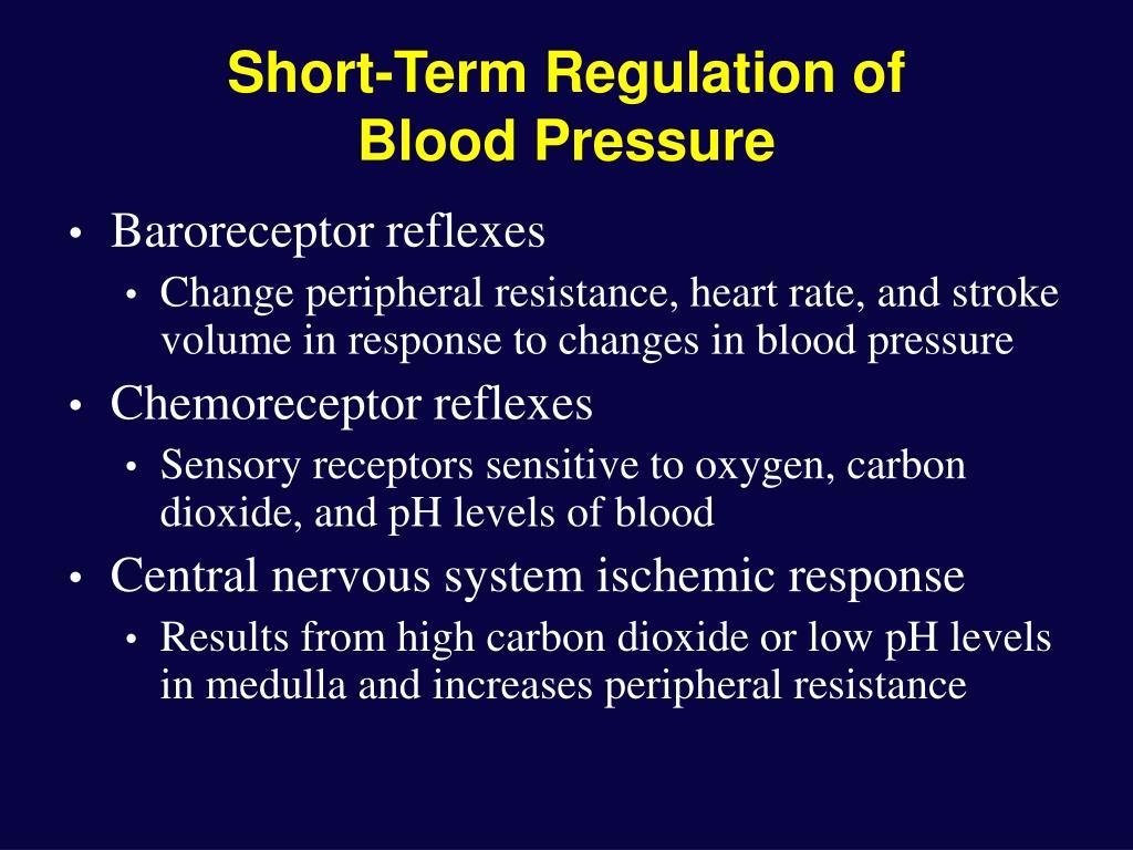 Short-Term Regulation of