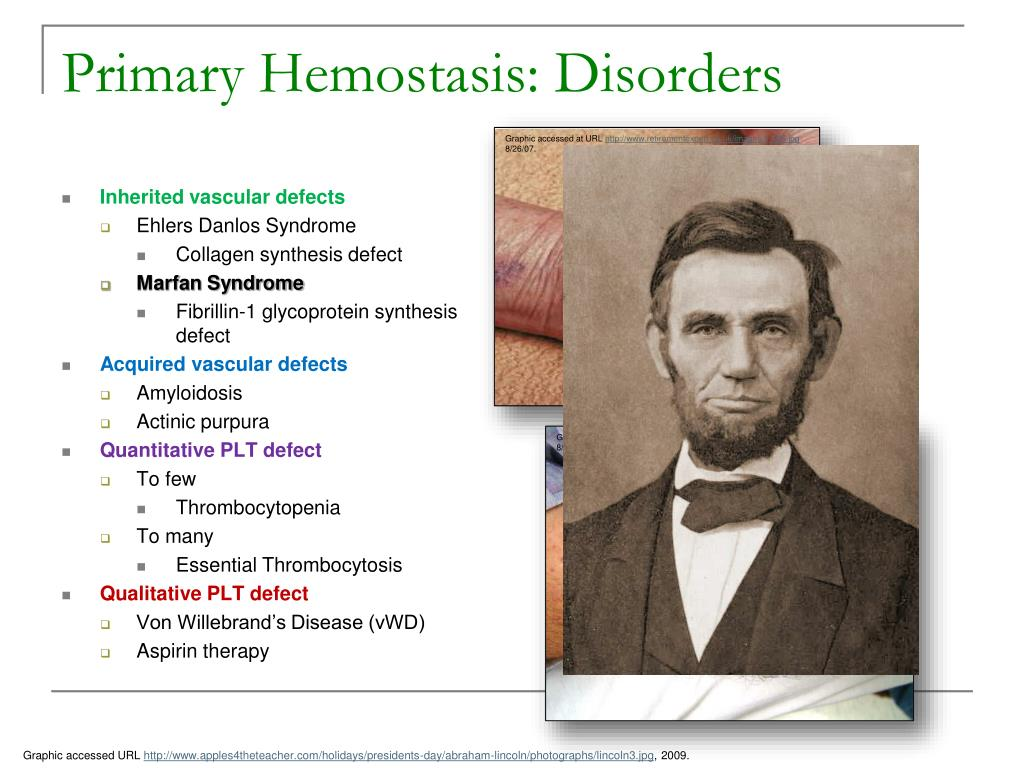 Primary Hemostasis: Disorders