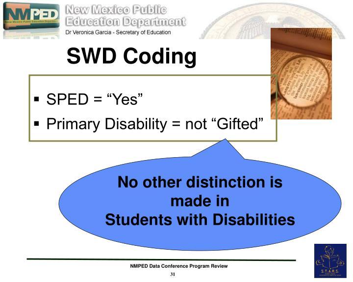 SWD Coding