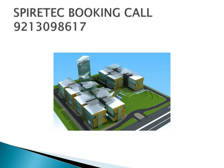 Spiretec booking call 9213098617