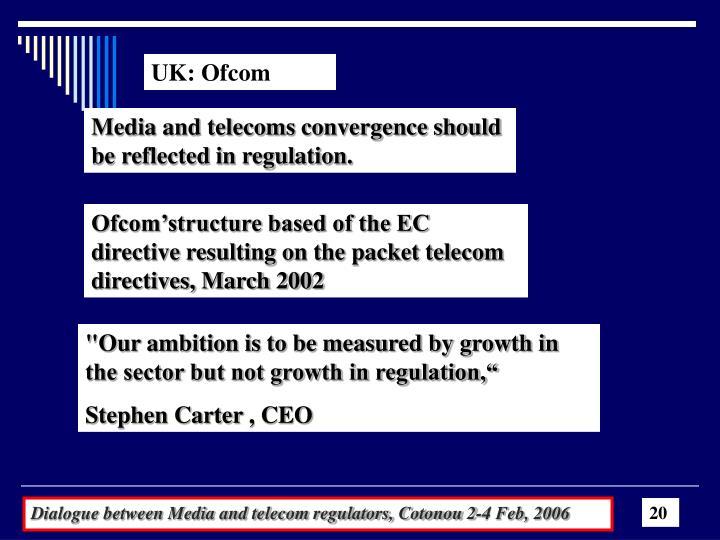 UK: Ofcom